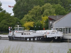 Woonboot - Peniche - Barge Mory Mega Yacht