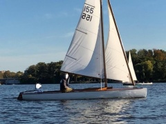 H-Jolle Sailing dinghy