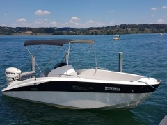 Clear Aries Open Deluxe Sport Boat