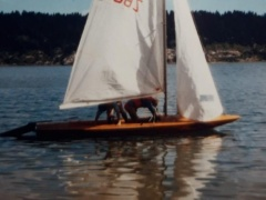 Fireball Sailing dinghy