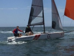 SK2 Sailing SK2 One Design Racing boat