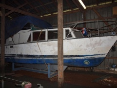 3x9m Boot Pilothouse