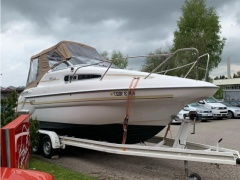 Sealine Notverkauf Sealine 240 S Family Trailer Kajütboot