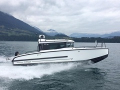 XO Boats 270 RS Front Cabin Pilothouse