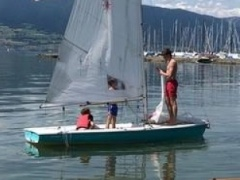 Performence Laser II Sailing dinghy