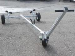 Allenspach Bootsmotoren Slipwagen 350 Launching Trolley