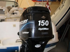 Mercury 150L OptiMax Saltwater Außenbordmotor