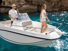 Quicksilver Inflatables Activ 505 Open Center Console Boat