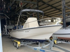 Boston Whaler Dauntless 180 Fischerboot