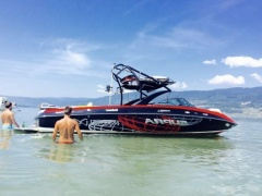 Supra 242 launch Worldseries Wakeboard/Wakesurf