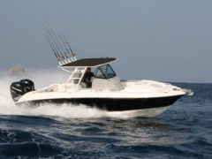 Wellcraft 30 Scarab Sport Center console boat
