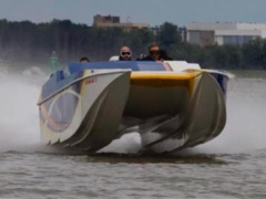 Apache Vicious Skater Mercury Racing Catamaran