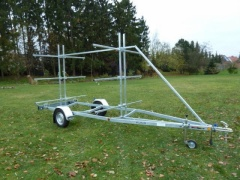 Marlin BT 750 kg Kanutrailer Single Axle