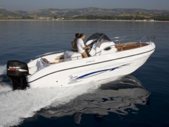 Ranieri Shadow 24 Konsolenboot