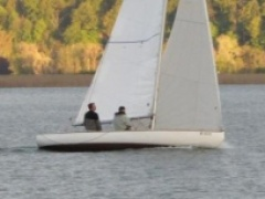 6.5m Série Internationale Racing boat