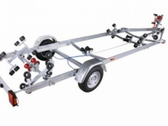 Variant 1801BB Superrulle trailer Lang Single Axle
