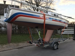 Stüssi Trailer für Segelboot Typ BK3802 Single Axle