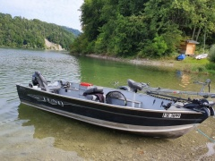 Lund Boats FURY 1600 Tiller Fishing Boat