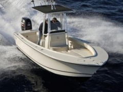 AL Custom Al 21 Center console boat