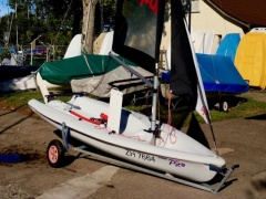 Laser Pico Race Sailing dinghy