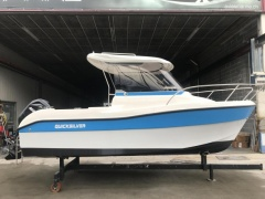 Quicksilver 530 Flamin neu revidiert Fischerboot
