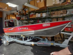 Lund Boats WC 14 Fishing Boat