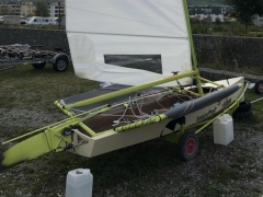 Fastforwood Sailing dinghy