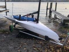 The Foiling Dinghy Jolle