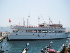 Black Sea Double Deck Excursion Vessel Nave passeggeri
