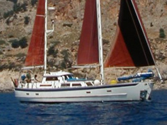 Cheoy Lee 43 (13m) Bj 1980 Ketch Checchia