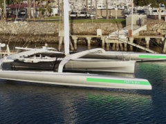 CDK Technologies 72ft Ultime Trimaran Trimarano