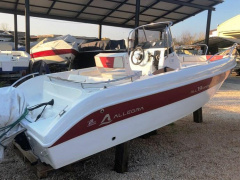 Allegra 19 open (2019) Boot met middenconsole