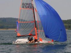 Ovington Boats 29er Racing boat