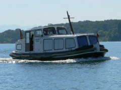 Friese Praam / Barkasse (Bodensee) Hausboot