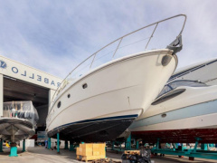 "Ferretti 590 ""Lady Sea"" Ponton-Boot"