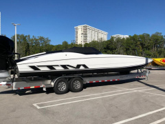 Marine Technology Inc MTI 340 X Offshore Boat