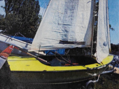 SPANKER 19 Sailing dinghy
