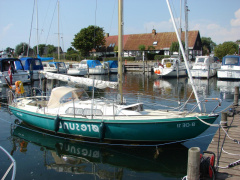Marieholm IF Boot Kielboot