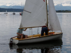 Ceran Stove + Oven, Electric Sailing dinghy
