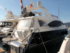 Princess 72 FLY - BJ. 2010 - 4 KABINEN Flybridge