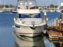 Jeanneau Prestige 500Fly mit Garage+Williams 285 Sport Boat