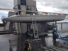 Precision Boats 11 Metre One Design Racing boat
