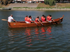 Holzboot (12 person) Barca a remi
