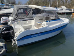Quicksilver (Brunswick Marine) 530 Flamin refitted 2019 Fischerboot