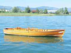 Kalchofner  Holzboot Rowing Boat