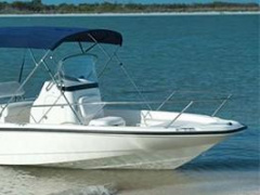 Boston Whaler Dauntless 200 Boot met middenconsole