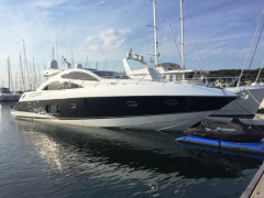 Sunseeker Predator 62 Open boot