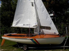 Hein Korsar Sailing dinghy