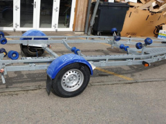 Brenderup 8222B, 1800KG Single Axle