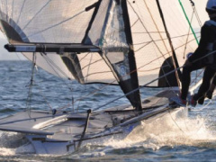 Ovington Boats 49er Racing boat